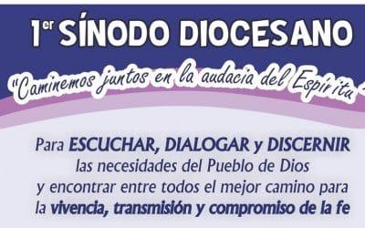 SE PRESENTÓ EL DOCUMENTO DE TRABAJO DEL 1er. SÍNODO DIOCESANO
