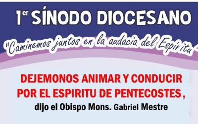 DEJÉMONOS ANIMAR Y CONDUCIR POR EL ESPÍRITU, dijo el Obispo en la fiesta de Pentecostés.