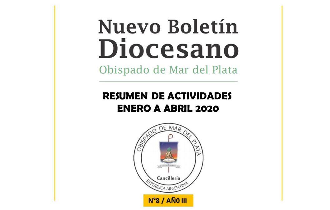 RESUMEN DE ACTIVIDADES DIOCESANAS DEL PRIMER CUATRIMESTRE