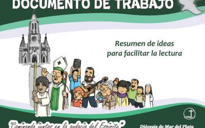 RESUMEN DEL DOCUMENTO DE TRABAJO PARA EL SINODO