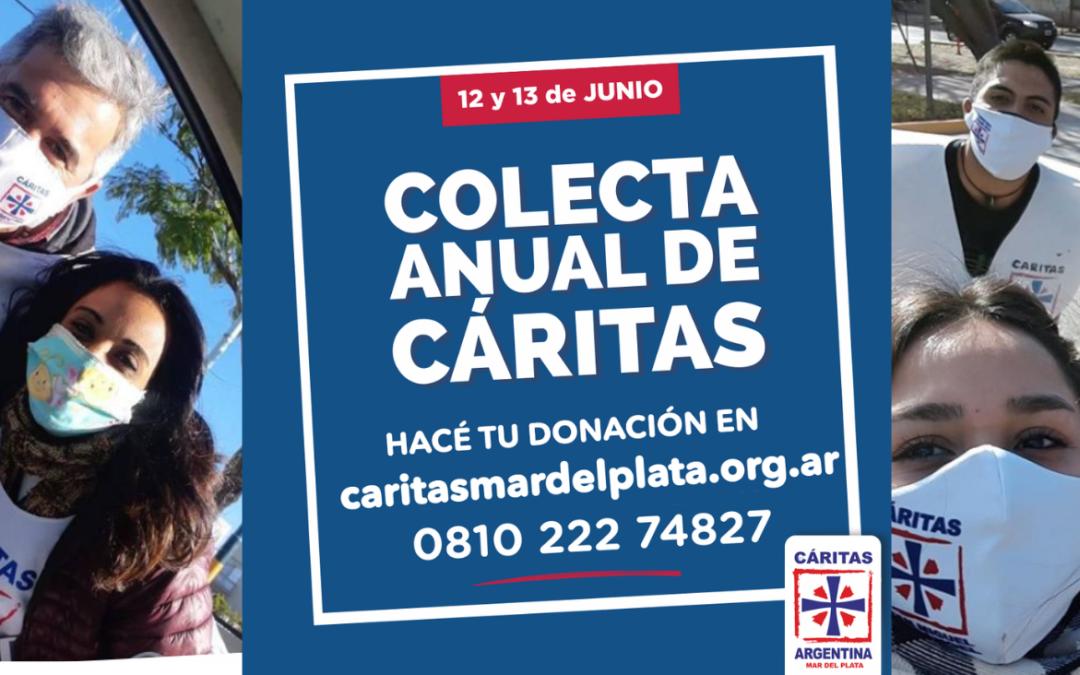COLECTA DE CARITAS: COMPARTAMOS MAS!